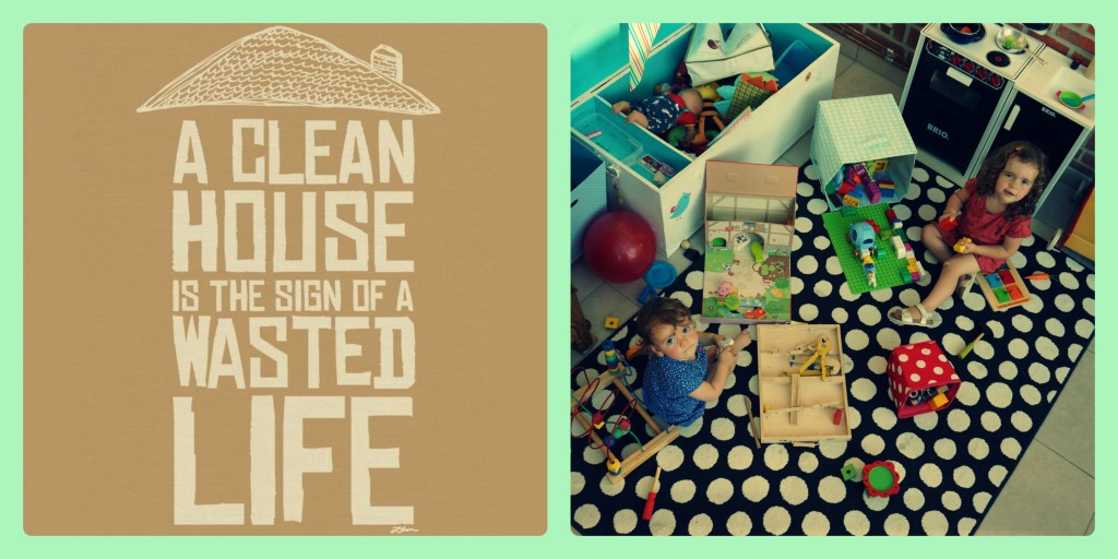 collage clean house
